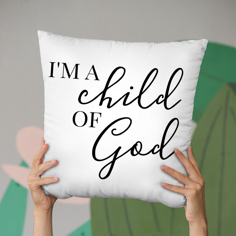 A Child Of God Throw Pillow By Little Pitti