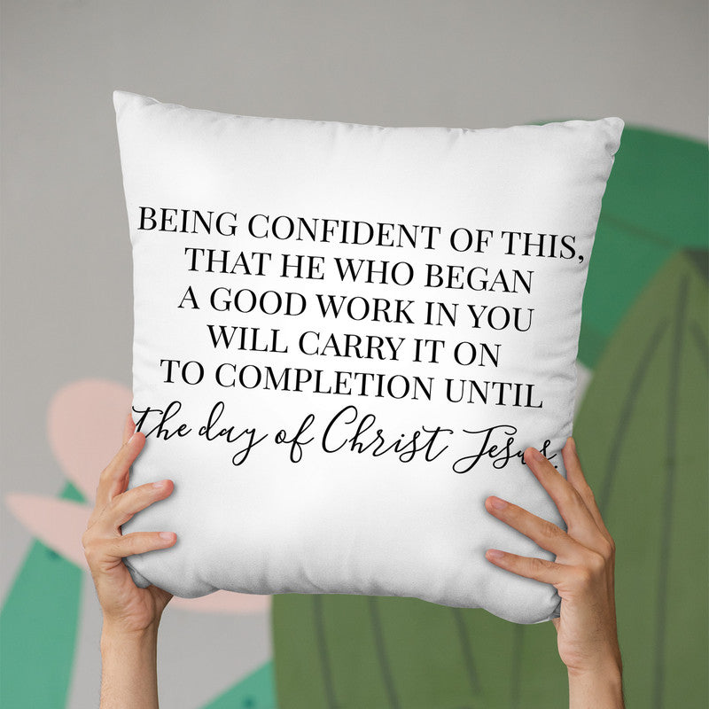 The Day Of Christ Jesus Throw Pillow By Little Pitti