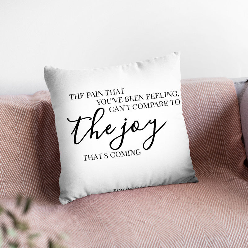 The Joy Throw Pillow By Little Pitti