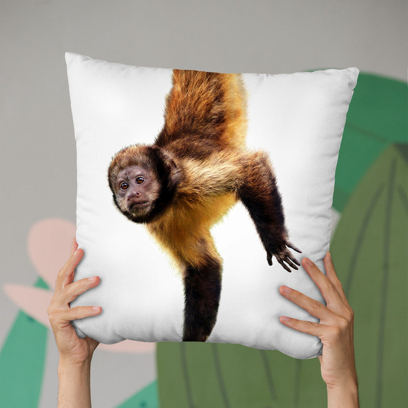 Monkey Throw Pillow By Little Pitti