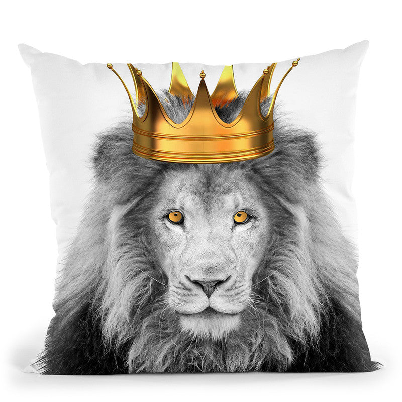 Lion King Throw Pillow By Little Pitti