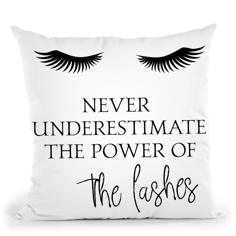 Never Underestimate Throw Pillow By Little Pitti