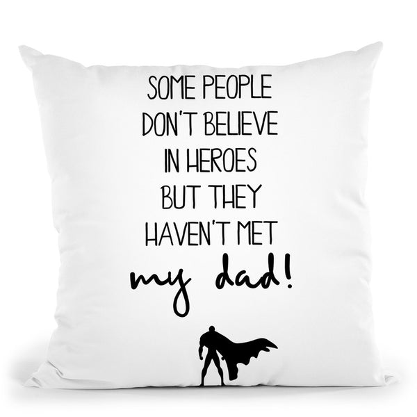 Heroes Throw Pillow By Little Pitti
