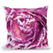 Ranunculus Abstract Iv Color Throw Pillow By Laura Marshall