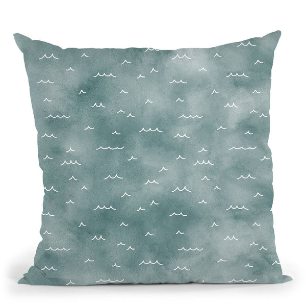 World Traveler Pattern Xiva Throw Pillow By Laura Marshall