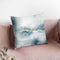 Flow With Gold Iii Throw Pillow By Laura Marshall