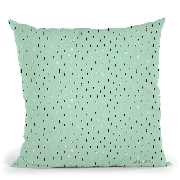 Sweet Paris Pattern Vc Throw Pillow By Laura Marshall