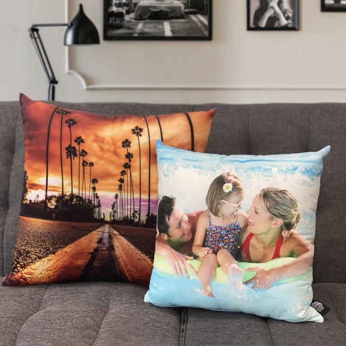 Custom Portrait Pillow
