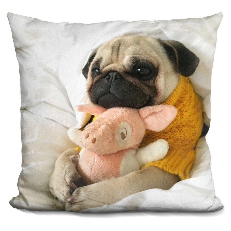 LouLou Comfort Toy Square Pillow