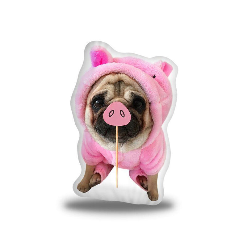 LouLou Piggy Custom Shaped Pillow