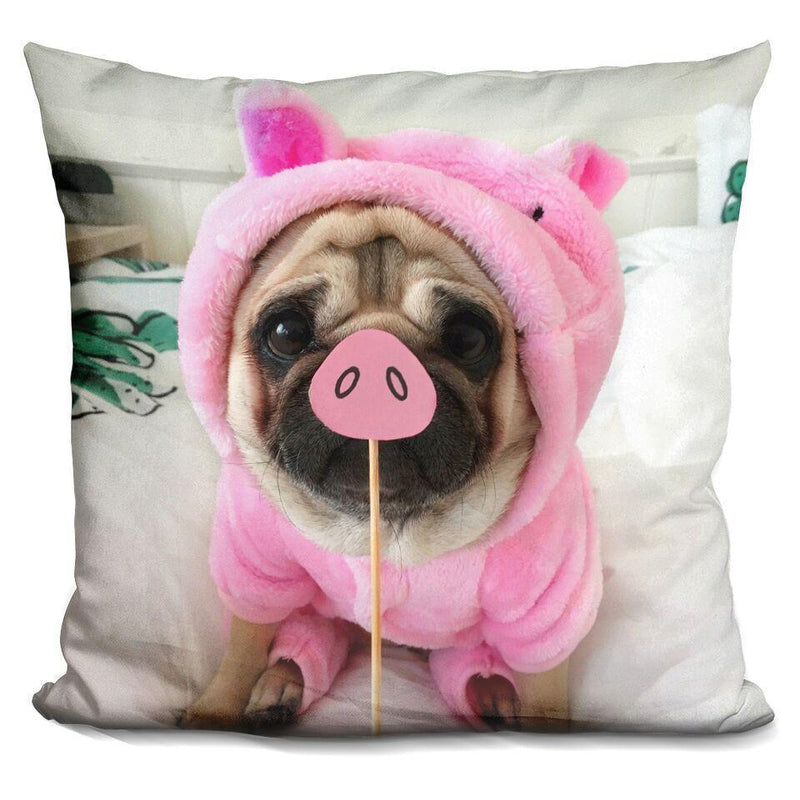 LouLou Piggy Square Pillow