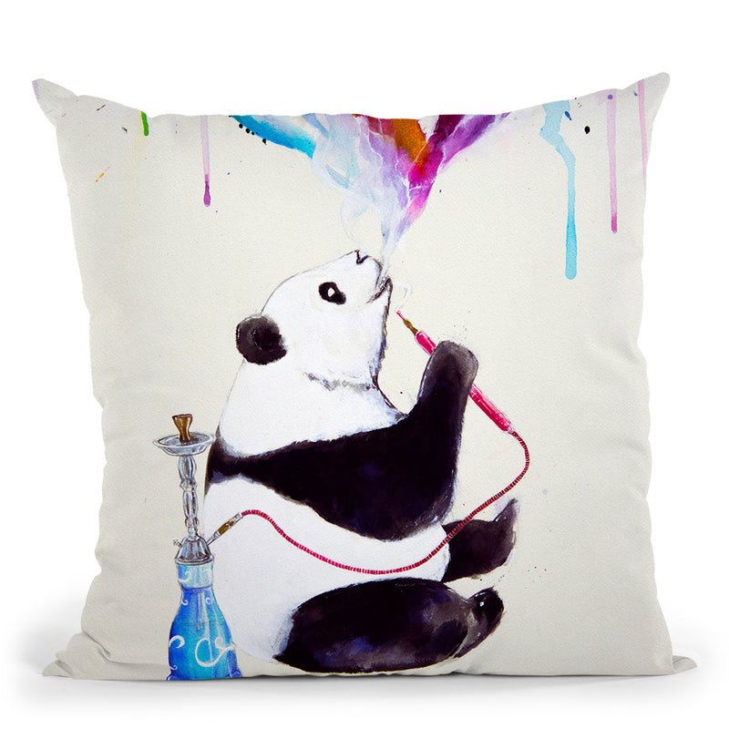 Chai Throw Pillow By Marc Allante