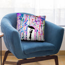 Deluge Throw Pillow By Marc Allante