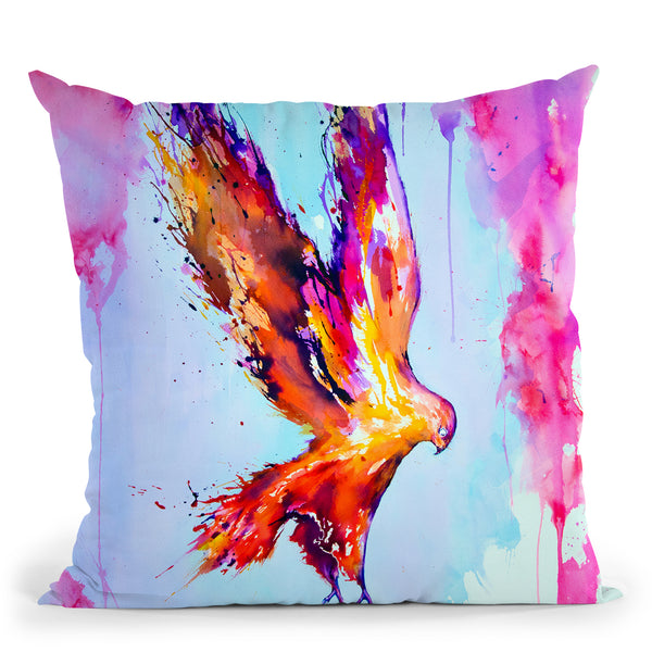Hyperion Throw Pillow By Marc Allante