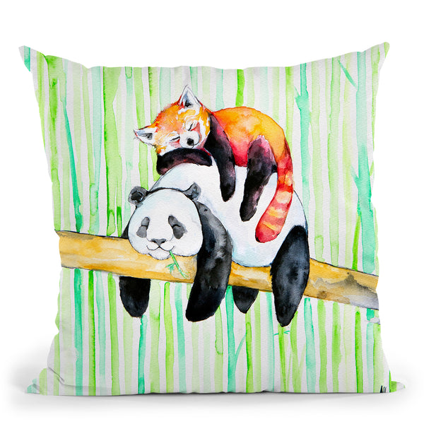Lullaby Ma Throw Pillow By Marc Allante