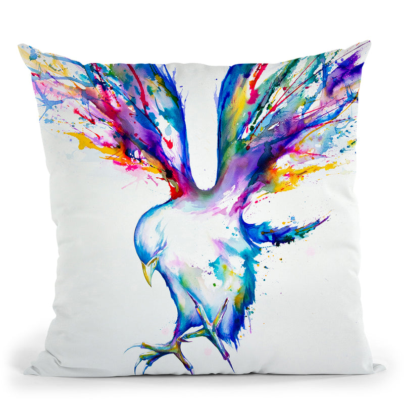 Achilles Throw Pillow By Marc Allante