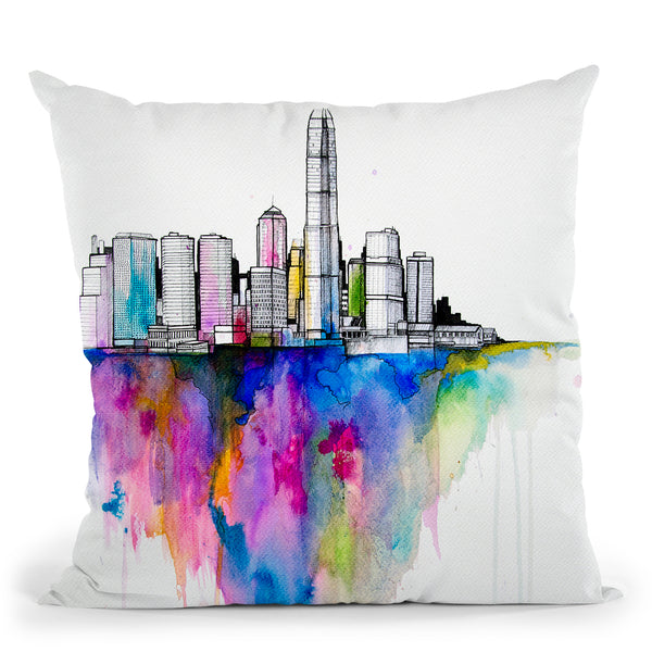Monolith Ii Throw Pillow By Marc Allante