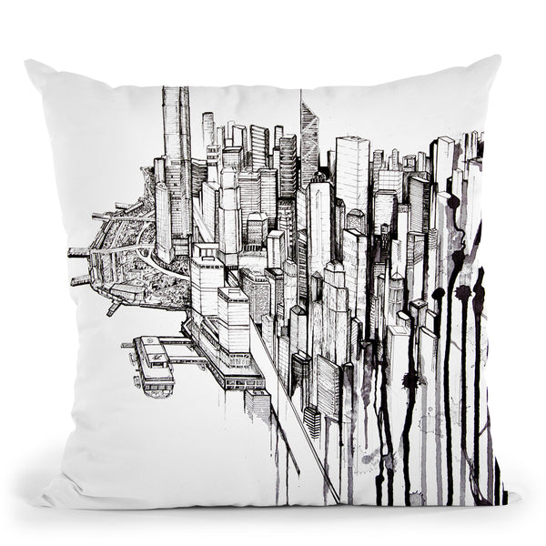 Reclaimed Throw Pillow By Marc Allante
