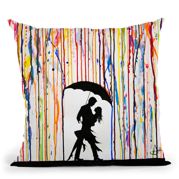 Tempest Throw Pillow By Marc Allante