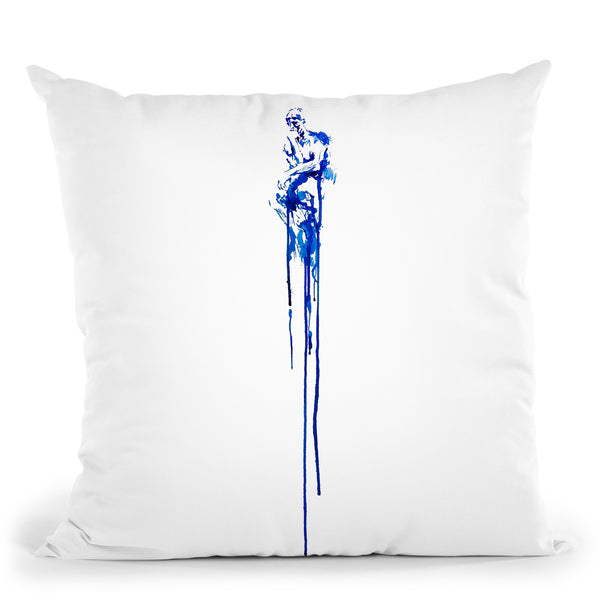 This One Fleeting Thought Throw Pillow By Marc Allante
