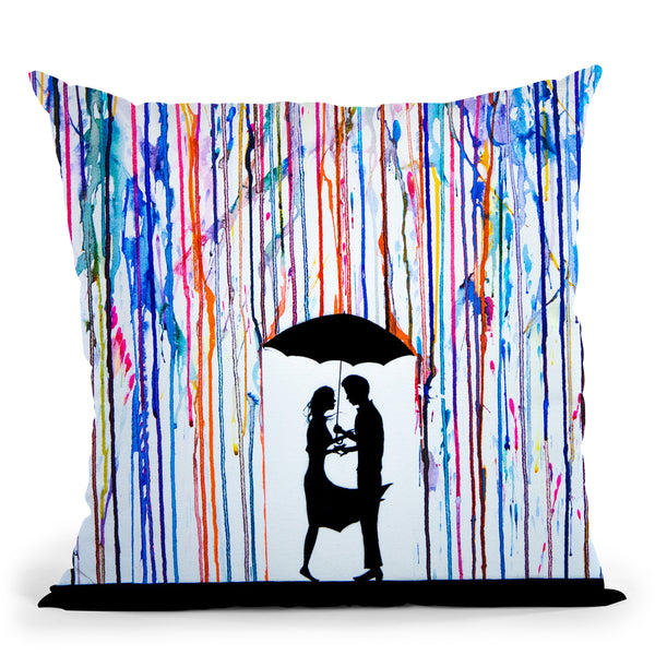 Touche Throw Pillow By Marc Allante