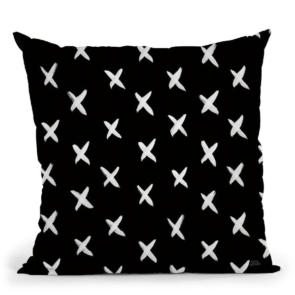 Scandy Baby Pattern Iib Throw Pillow By Melissa Averinos