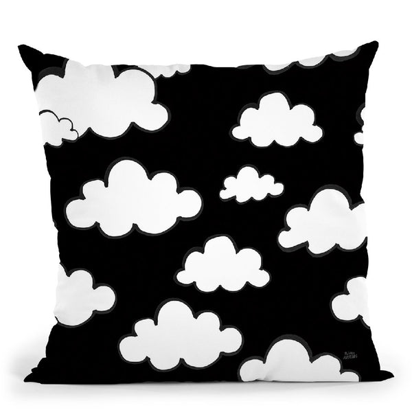 Scandy Baby Pattern Iiib Throw Pillow By Melissa Averinos