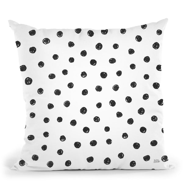 Scandy Baby Pattern Vi Throw Pillow By Melissa Averinos