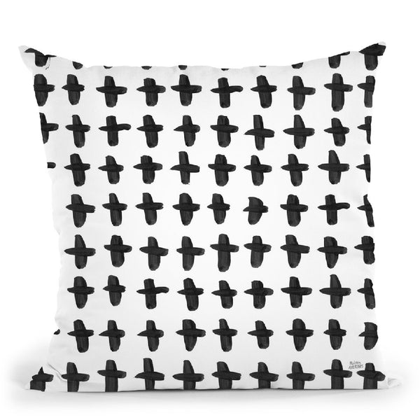 Scandy Baby Pattern Xa Throw Pillow By Melissa Averinos