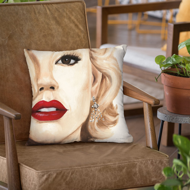 Madison Avenue Throw Pillow by Marco Fabiano