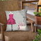 A Dress Fitting Boutique Ii Throw Pillow by Marco Fabiano