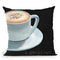 Dark Roast Iv Throw Pillow by Marco Fabiano