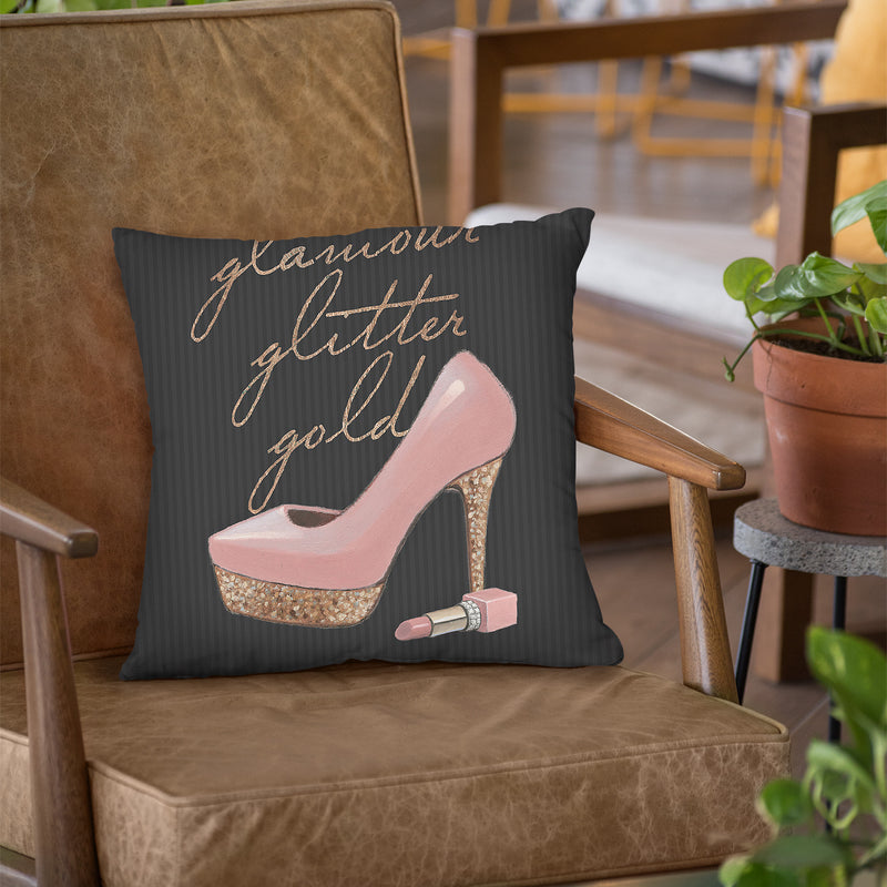 Ny Chic Ii Throw Pillow by Marco Fabiano