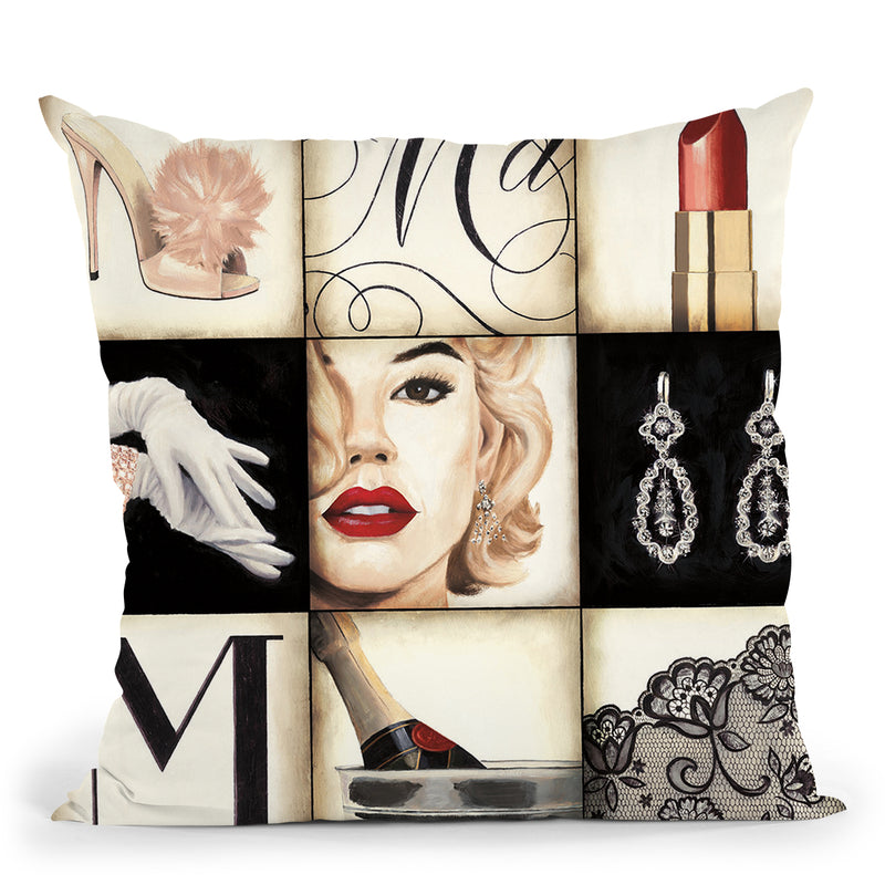 Madison Avenue 2 Throw Pillow by Marco Fabiano