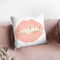 Wake Up And Make Up Iv Throw Pillow By Marco Fabiano
