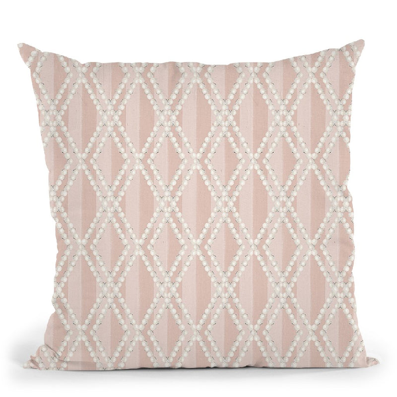 Ny Chic Pattern Vb Throw Pillow By Marco Fabiano