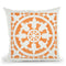 Hacienda Tile Ii Throw Pillow By Moira Hershey
