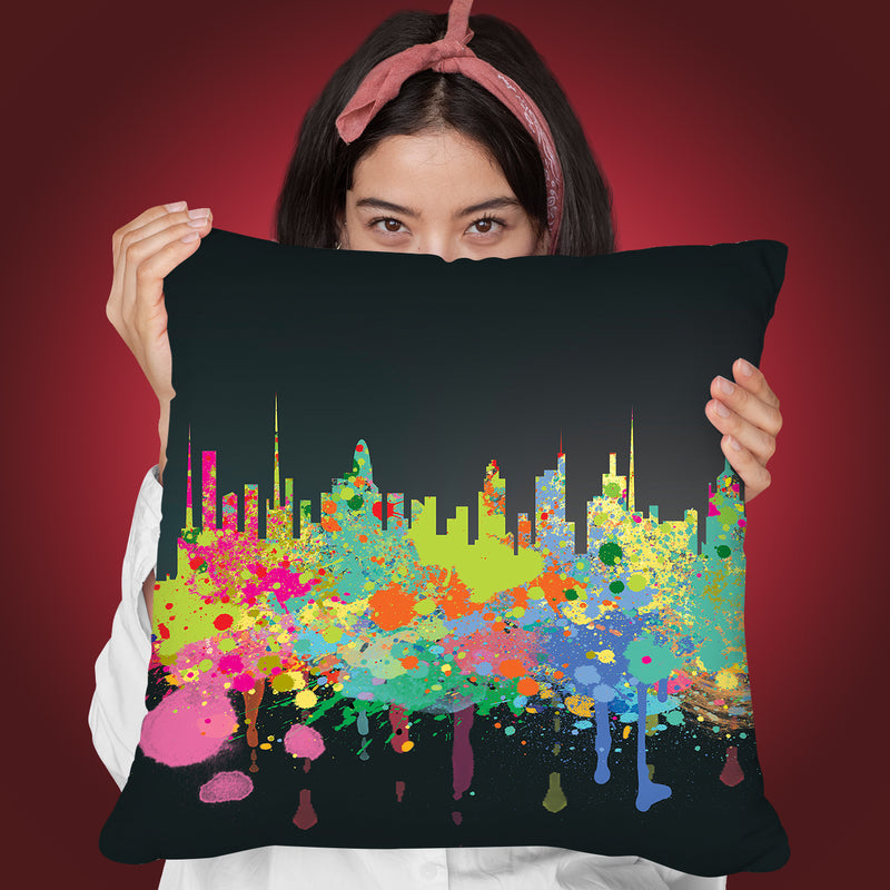 The Big Ii Throw Pillow By Mark Ashkenazi