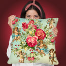 Roses Ii Throw Pillow By Mark Ashkenazi