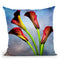 Cala Lily Iii Throw Pillow By Mark Ashkenazi