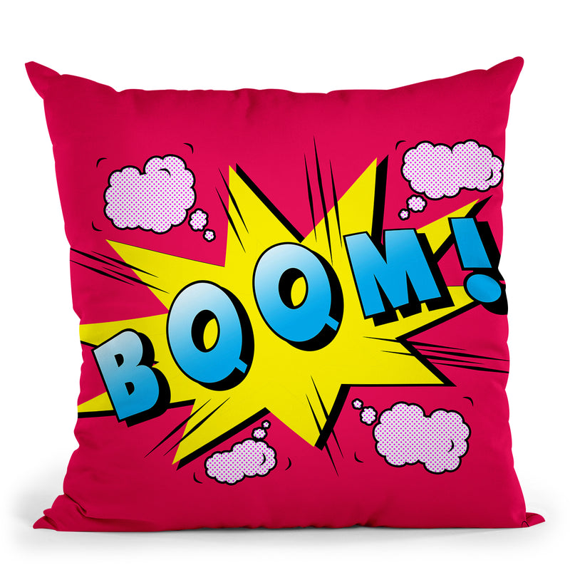 Boom Throw Pillow By Mark Ashkenazi
