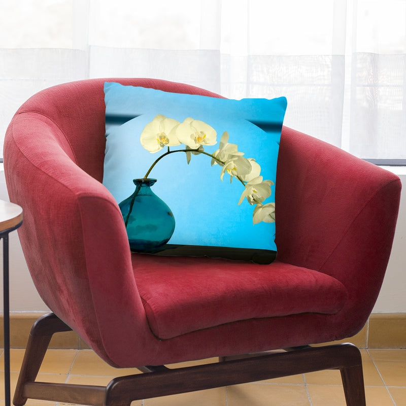 Orcidea Throw Pillow By Mark Ashkenazi