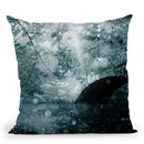 Lilac Blossom Throw Pillow By Mark Ashkenazi