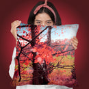 Forest Throw Pillow By Mark Ashkenazi