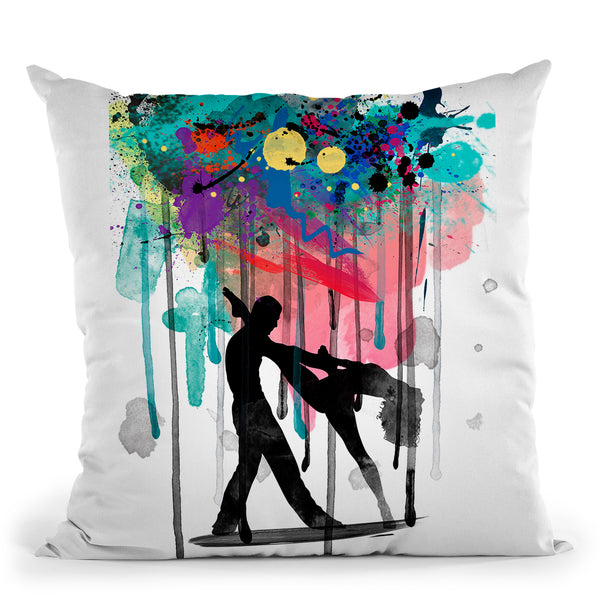 Leigh Bowery Throw Pillow By Mark Ashkenazi