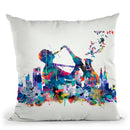 New York Mark Iv Throw Pillow By Mark Ashkenazi