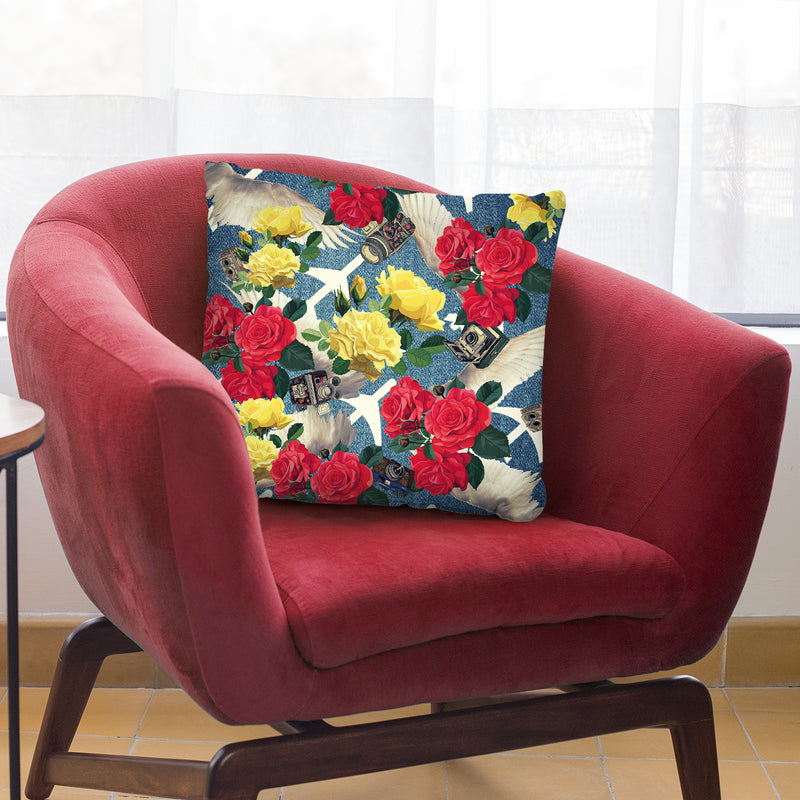Flamingo Tropical Throw Pillow By Mark Ashkenazi