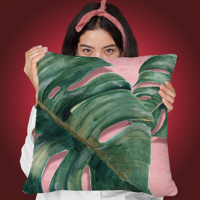 Love Tropical Throw Pillow By Mark Ashkenazi