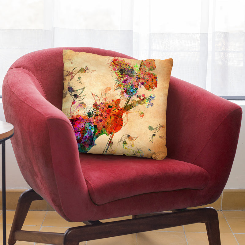 Love Music Throw Pillow By Mark Ashkenazi