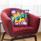 Pow Vi Throw Pillow By Mark Ashkenazi